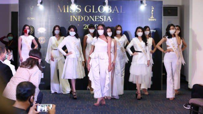 Pandemi, Ajang Miss Global Indonesia 2020 Tetap Digelar