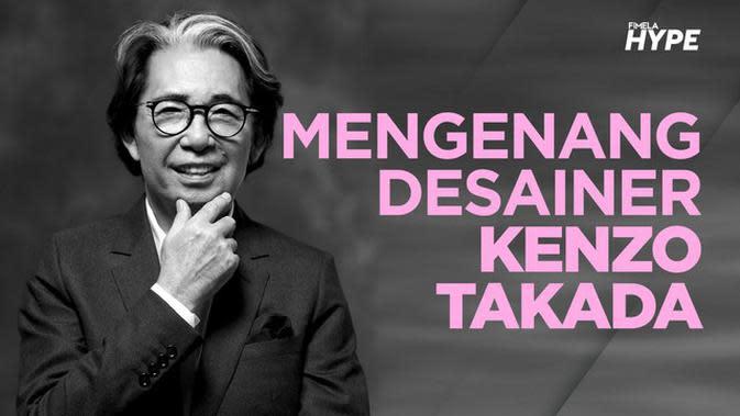 Mengenang Kenzo Takada, Desainer Dunia yang Tutup Usia Akibat Covid-19