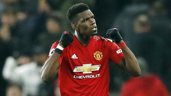 Bintang Manchester United, Paul Pogba. (AP/Martin Rickett)