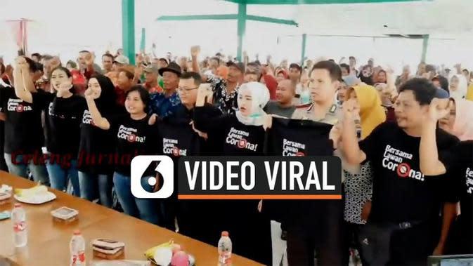 VIDEO: Viral Tegal Lawan Corona, Ini Penjelasan Penyelenggara