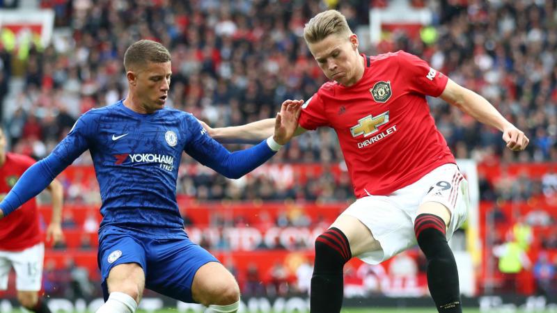 Ross Barkley Scott McTominay Chelsea Manchester United 2019-20