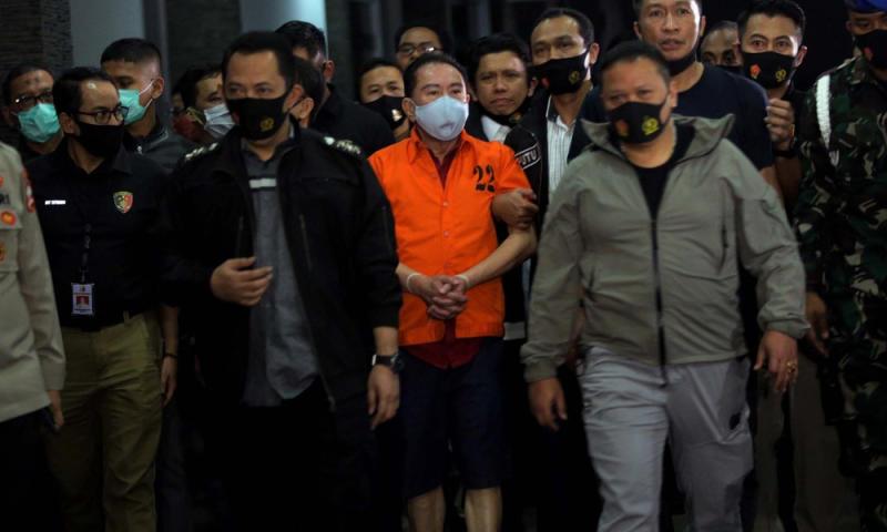 Indonesian cops probing illicit funds linked to graft fugitive arrested in KL