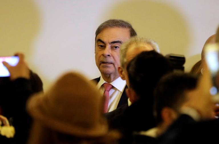 Former Nissan chief Carlos Ghosn in Beirut January 8, 2020 after fleeing from Japana