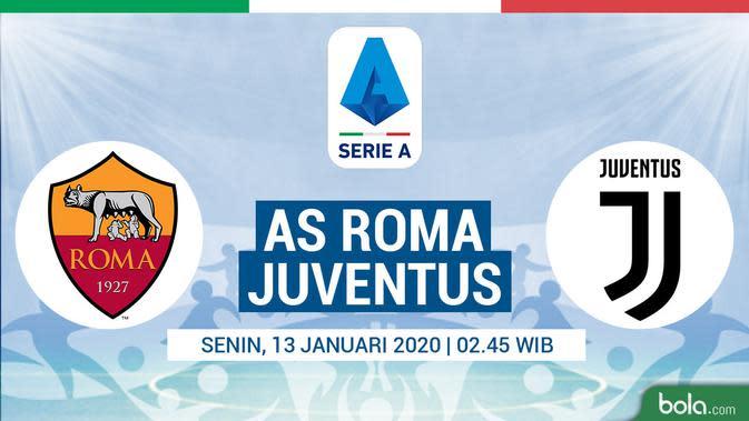 Live Streaming Roma vs Juventus Eksklusif di Vidio