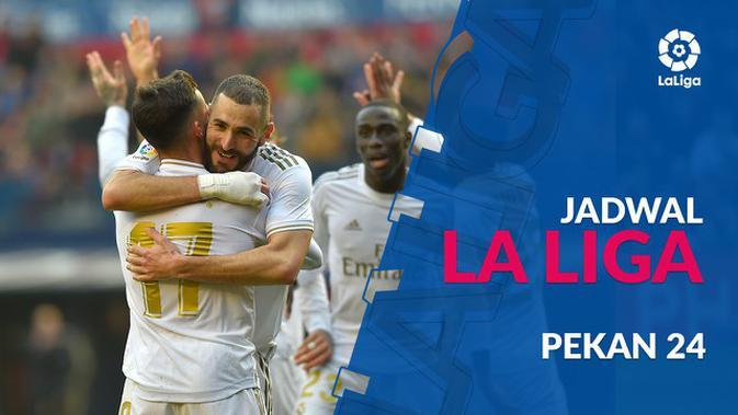 VIDEO: Jadwal La Liga Pekan 24, Real Madrid Hadapi Celta Vigo