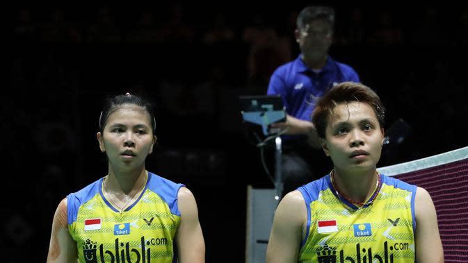 Cedera dan Tersisih di Fuzhou China Open 2019, Greysia Polii / Apriyani Rahayu Absen di Hongkong Open 2019