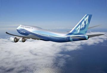 波音747-8 (圖:波音官網)