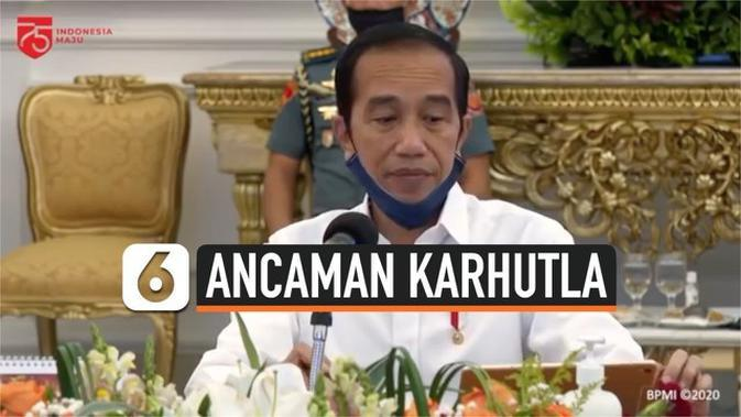 VIDEO: Jokowi Ingatkan Ancaman Karhutla di Tengah Pandemi Covid-19