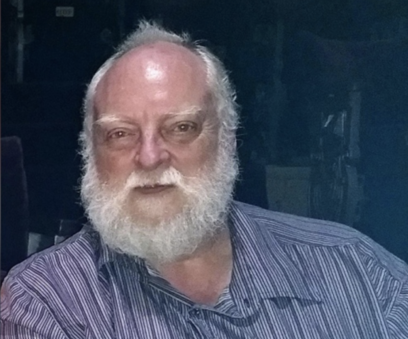 A photo of a third victim, Leonard Dyck, who was also found shot dead. Police believe he was killed by the suspects.