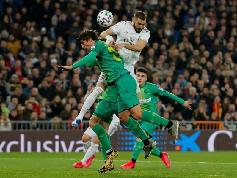 Copa del Rey - Real Madrid v Real Sociedad