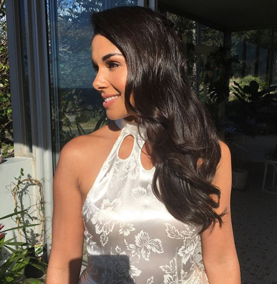 Sarah Roberts bridal look at her Australian wedding was all thanks to Home and Away makeup artist Laura Vazquez