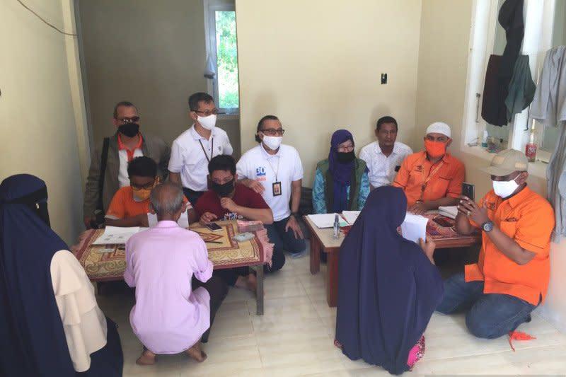 Pos Indonesia Aceh salurkan bansos tunai hingga ke pulau terluar