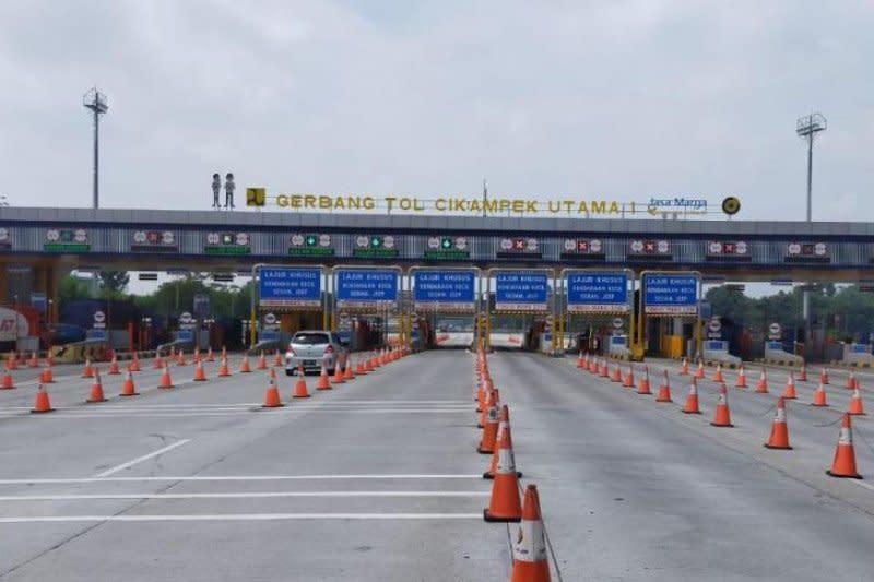 H-5 Lebaran, Jasa Marga catat kendaraan keluar Jakarta turun 60 persen