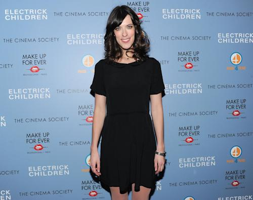 "FILE - In this Monday, March 4, 2013 file photo, writer and director Rebecca Thomas attends a special screening of ""Electrick Children"" hosted by the Cinema Society and Make Up For Ever at the IFC Center in New York. (Photo by Evan Agostini/Invision/AP, File)"