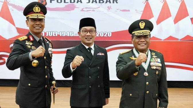 HUT ke-74 Bhayangkara, Ridwan Kamil Apresiasi Kinerja Polri dalam Penanganan Covid-19