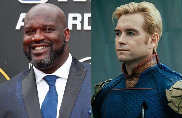 Shaq Zoom-Bombs 'The Boys' NYCC Panel, Demands to Join Supes of The Seven as 'Black Demon' (Video)
