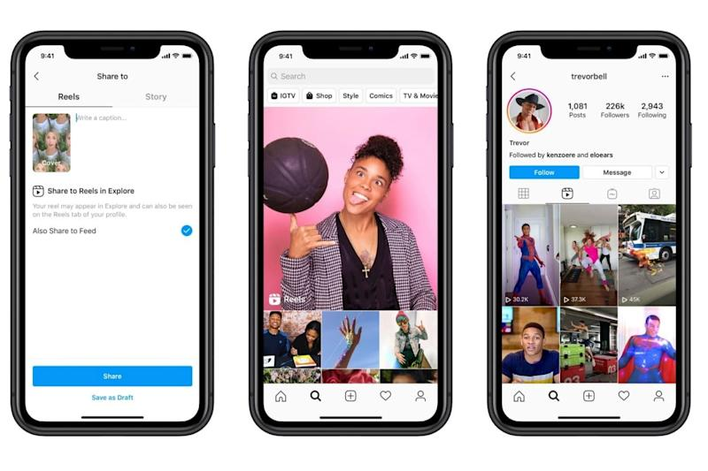 TikTok creators say they're not switching to Instagram Reels, survey finds