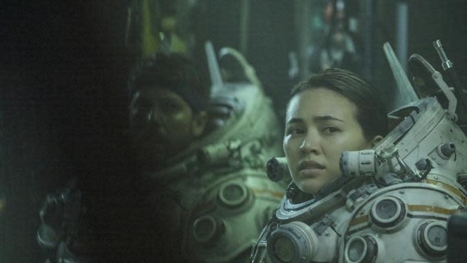 Salah satu adegan film Underwater. (Dok. IMDb/ 20th Century Fox)