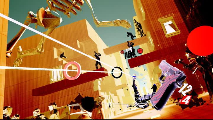 Pistol Whip gameplay