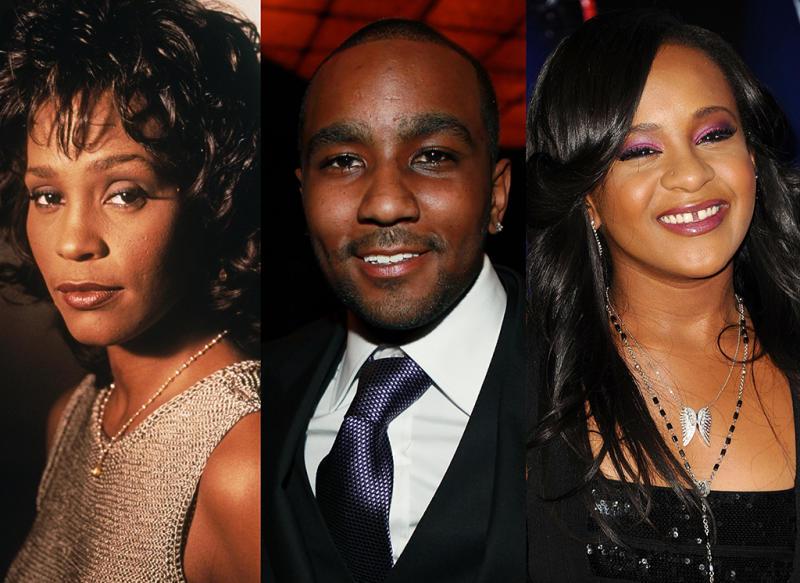 Whitney Houston, Nick Gordon, Bobbi Kristina Brown