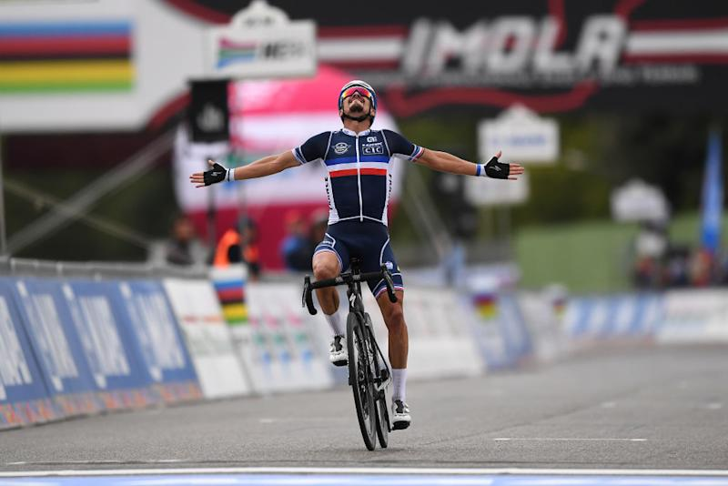 Julian Alaphilippe wins World Championships