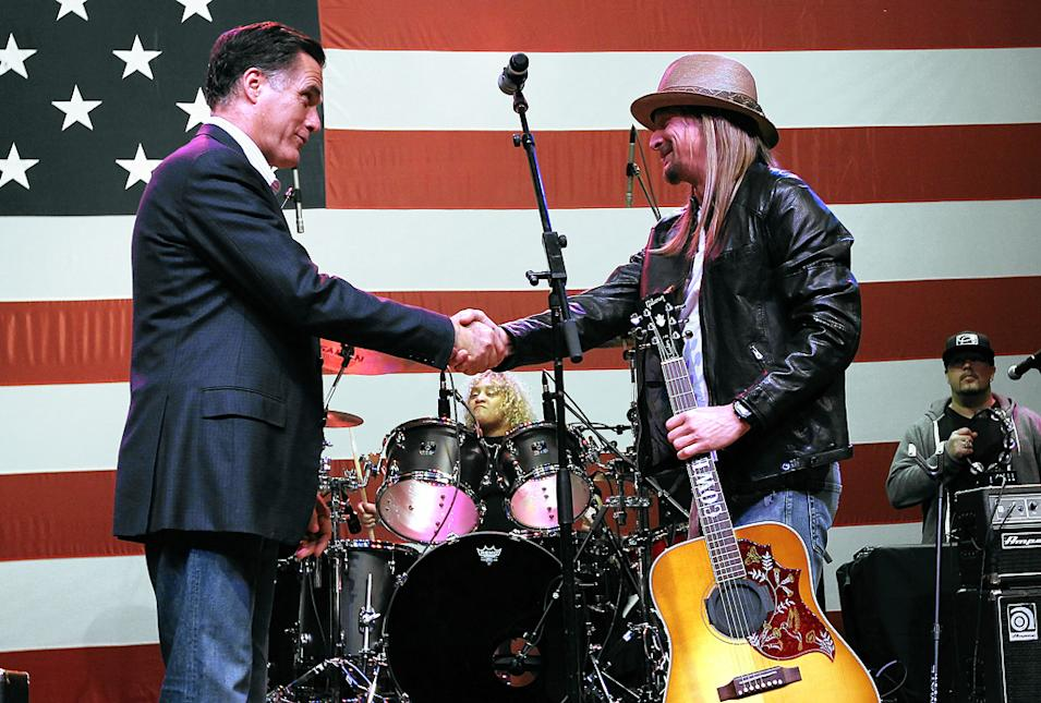 Kid Rock, Mitt Romney