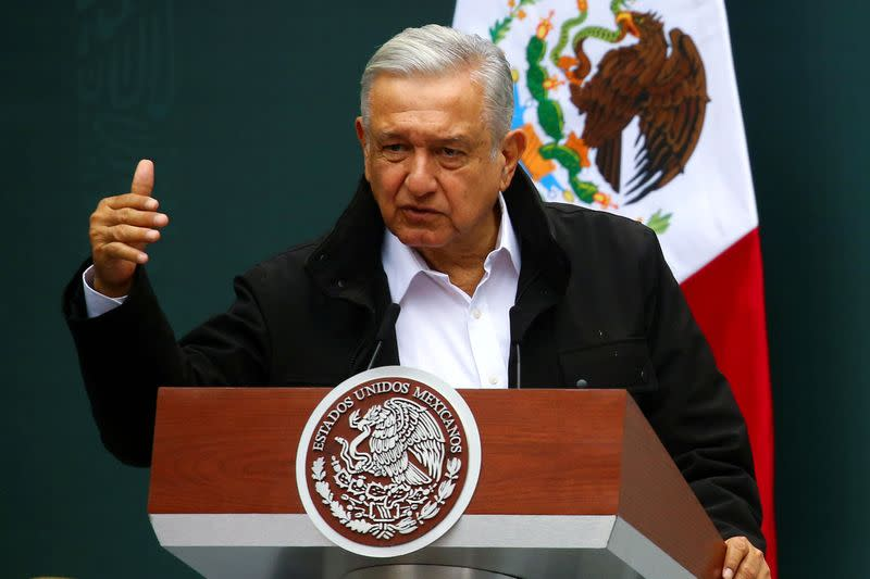 U.S. water row puts Mexican president in opposition sights
