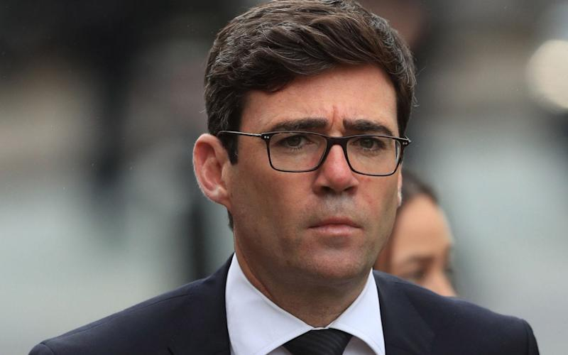 Mayor of Greater Manchester Andy Burnham - Danny Lawson/PA