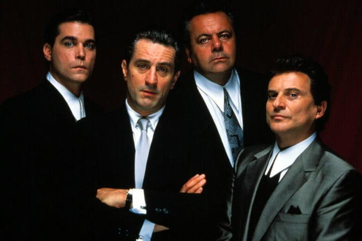 Ray Liotta, Robert DeNiro, and Joe Pesci in Goodfellas