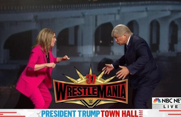 'SNL' Cold Open Gives Alec Baldwin's Trump Town Hall the Wrestlemania Treatment (Video)