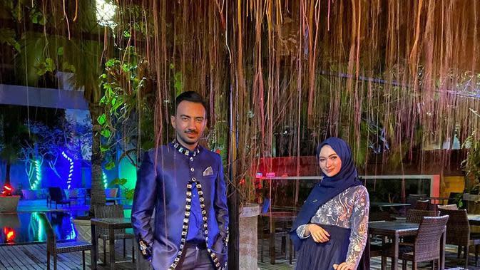 Momen Reza DA dan Valda Alviana yang jarang tersorot. (Sumber: Instagram/@reza_zakarya_daa)
