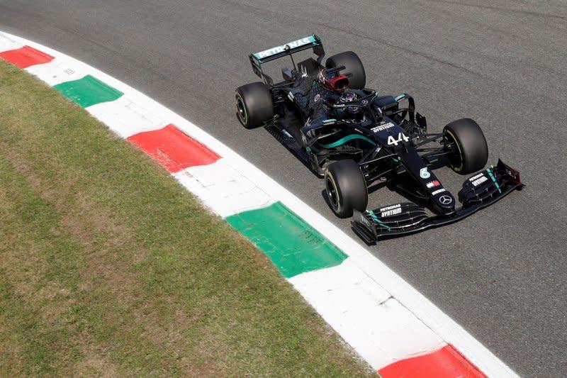 Duet Mercedes belum terkalahkan di FP2 Grand Prix Italia