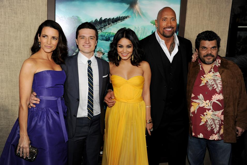 "Premiere Of Warner Bros. Pictures' ""Journey 2: The Mysterious Island"" - Red Carpet"