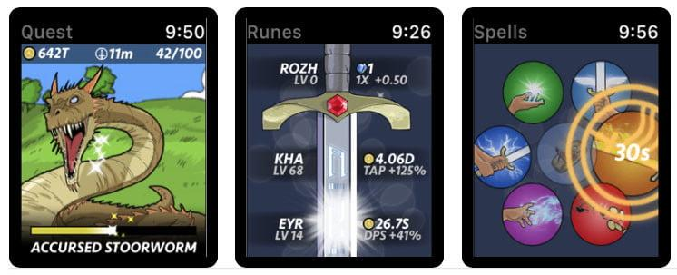 Runeblade watchOS