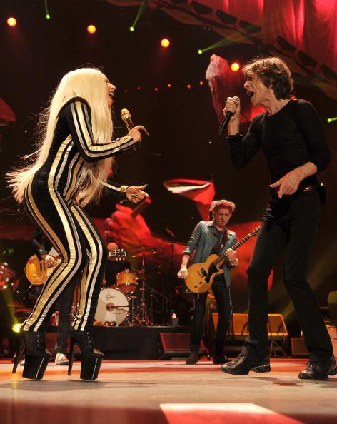 Lady Gaga Gives Good 'Shelter,' Springsteen Rolls 'Dice' in Star-Filled Stones Telecast