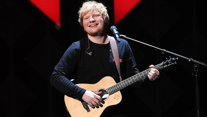 Ed Sheeran (AFP / ANGELA WEISS)