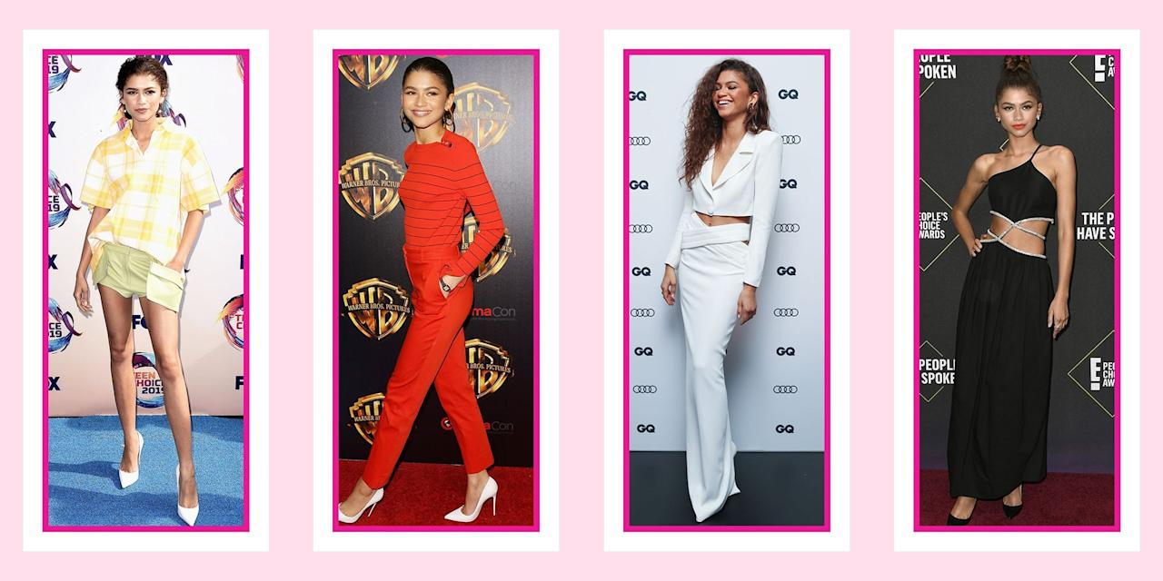 """<p>When it comes to Zendaya Coleman's fashion sense, she really knows how to """"Shake It Up!"""" (shameless Disney Channel pun). She's known for taking <a href=""""https://www.seventeen.com/fashion/celeb-fashion/a20271890/zendaya-met-gala-2018-dress/"""" target=""""_blank"""">risks on the red carpet</a> and stepping outside of the usual fashion box. Then, when it comes to her off days, she is just like us, seen in sweats and sneakers (REALLY cool sneakers). No matter the look – red carpet, interview or candid street style moment – she always dons a piece of clothing you would <em>love</em> to have in your own closet. </p><p>So whether you need <a href=""""https://www.seventeen.com/prom-dresses/"""" target=""""_blank"""">inspiration for prom</a>, your cousin's wedding, or your next <a href=""""https://www.seventeen.com/fashion/style-advice/tips/g741/date-outfits/"""" target=""""_blank"""">date night</a>, you can bet that somewhere in the archives, there's a perfect Zendaya look to replicate. We sifted through all her outfits to find the best of the best (yeah, it was <em>really </em>hard to narrow it down). Here are all times Zendaya's style slayed us all – well, more than usual.</p>"""