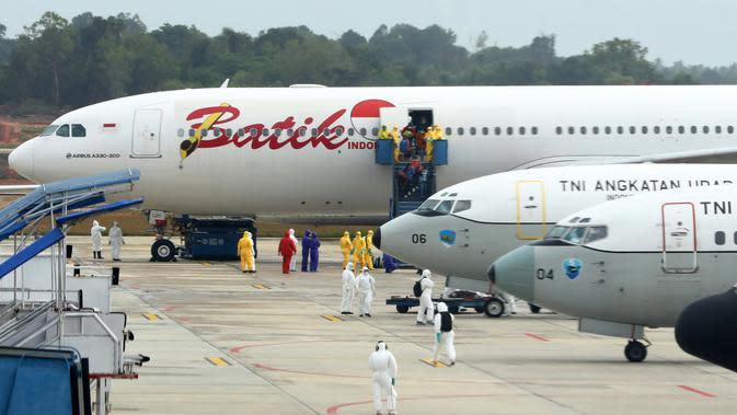 Usai Observasi di Natuna, 18 Kru Batik Air Siap Terbang Lagi