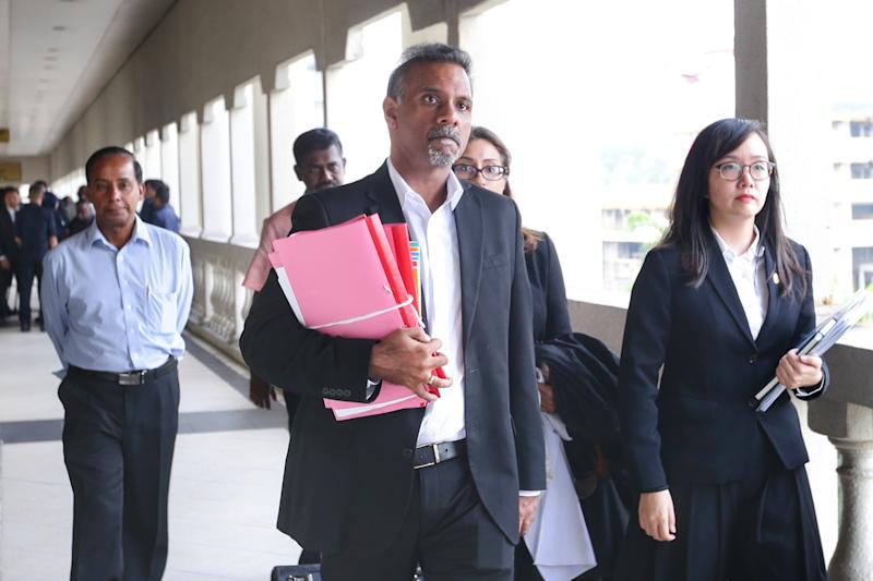 Lawyer Ramkarpal Singh urged the attorney general or the court itself to initiate contempt proceedings against Zahid. — Picture by Ahmad Zamzahuri