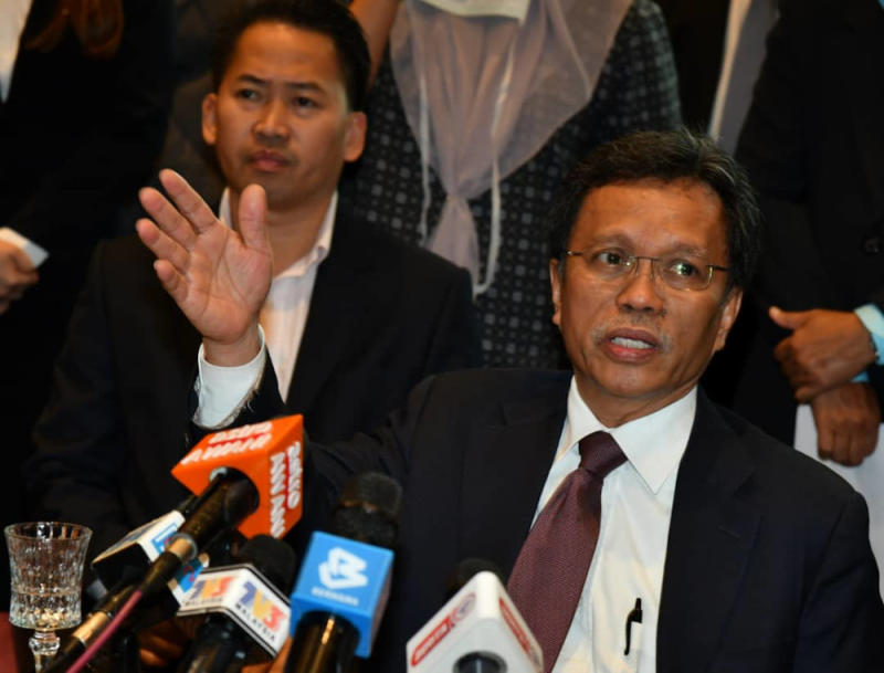 Chief Minister Datuk Seri Mohd Shafie Apdal said that there has yet to be a decision on the project which was recently highlighted again by former prime minister Datuk Seri Najib Razak in a Facebook post yesterday. — Picture by Julia Chan