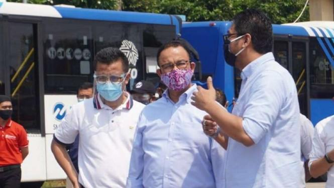 812 Bus Transjakarta Dioperasikan saat Ganjil Genap Berlaku Kembali