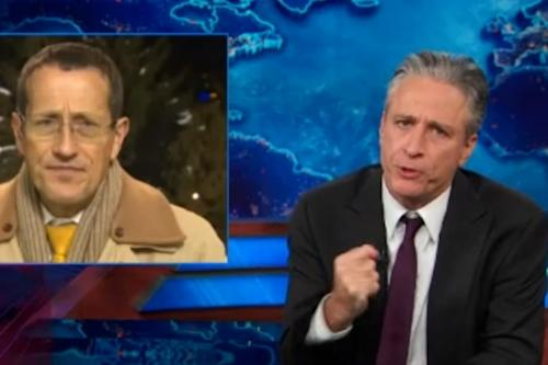 Jon Stewart: Income Inequality Is All the Rage in Davos Cocaine-atoriums (Video)