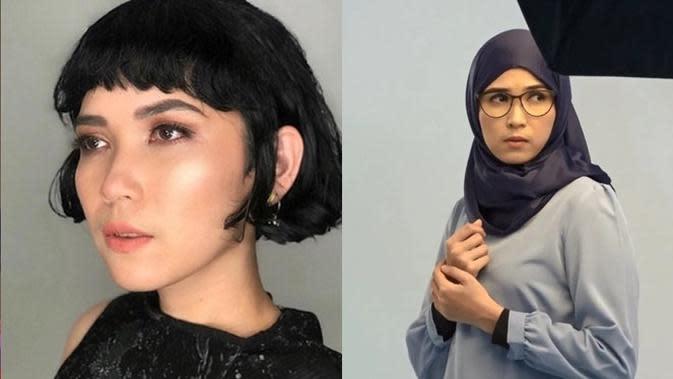 Beda Penampilan 5 Pemeran Cinta Suci Dulu Vs Saat Berhijab, Cantik Memesona (sumber: Instagram.com/dindakanyaa)