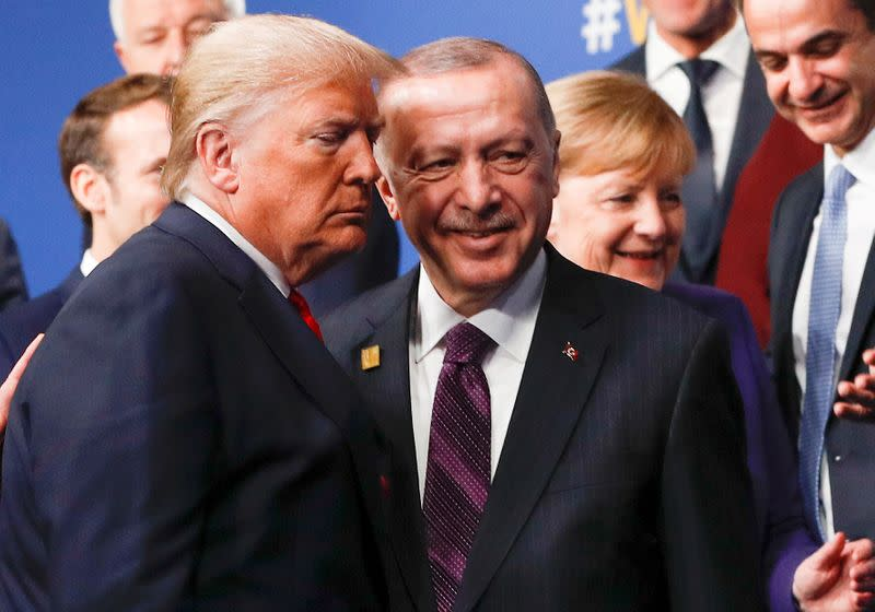 Trump urges Libya de-escalation on call with Erdogan - White House