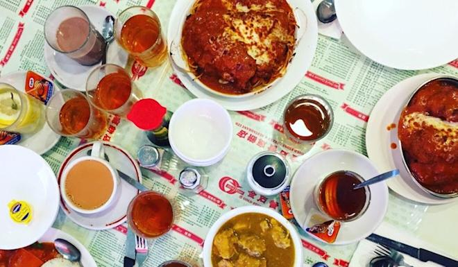 A spread of Goldstone Bakery's iconic Hong Kong-style cha chaan teng dishes. The Vancouver restaurant has closed after 34 years in Chinatown. Photo: Melody Ma