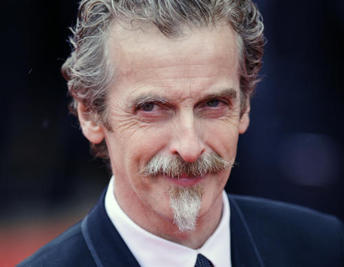 "FILE- Glasgow-born actor and Oscar winner Peter Capaldi, as he appeared in London in this file photo dated May 12, 2013. Peter Capaldi is named late Sunday Aug. 4, 2013, as the next lead star for the long-running British science fiction TV series ""Doctor Who."" (AP Photo / Dominic Lipinski, PA, FILE) UNITED KINGDOM OUT - NO SALES - NO ARCHIVES"