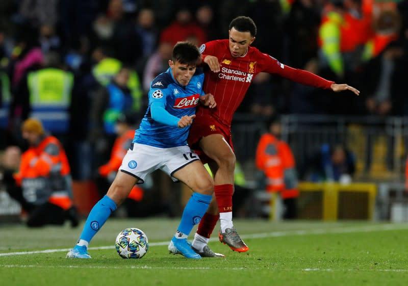 Champions League - Group E - Liverpool v Napoli