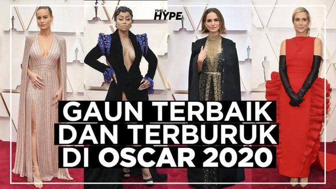 Gaun Terbaik dan Terburuk di Oscar 2020