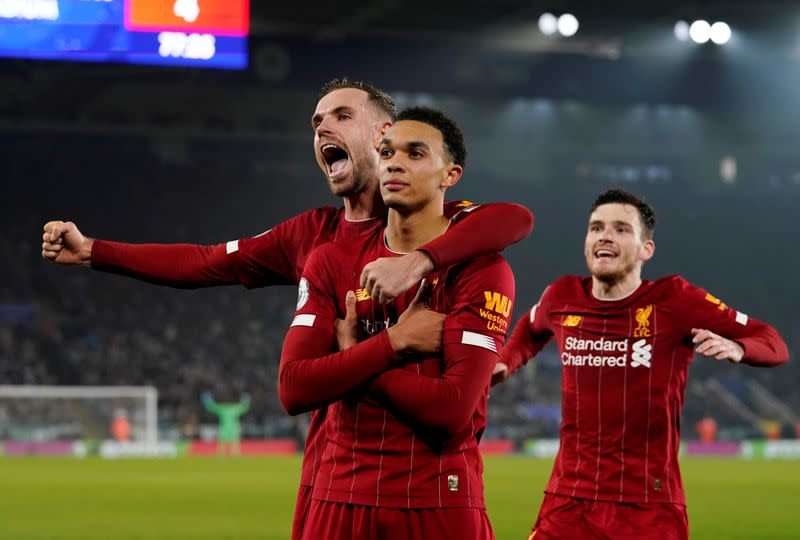 Relentless Liverpool have no time for reflection