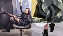 楊冪「蕾絲絲襪X軍靴」大秀鉛筆美腿!3款「短靴」名單,想顯腿細就該收